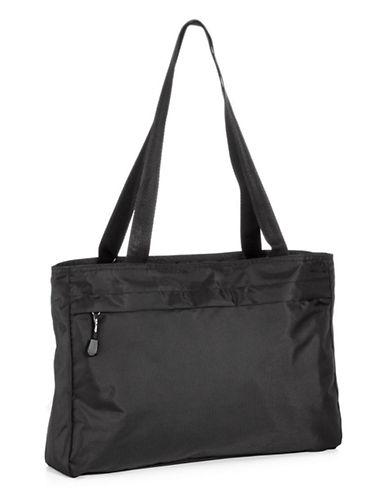 Derek Alexander East West Top Zip Tote-BLACK-One Size