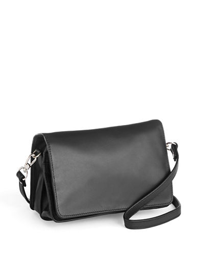 Derek Alexander Full Flap Organizer Bag-BLACK-One Size
