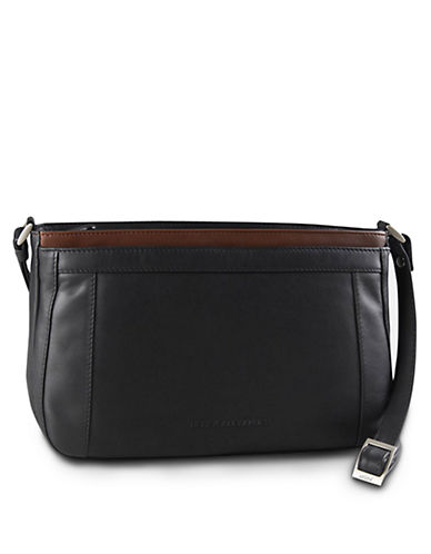 Derek Alexander Triple Top Zip Organizer-BLACK-One Size