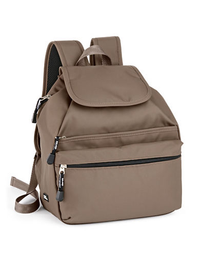 Derek Alexander Medium Backpack-BROWN-One Size
