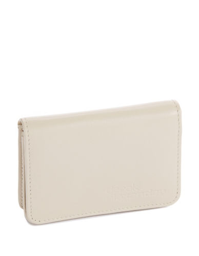 DEREK ALEXANDER Simple Business Card  Credit Card Case bone