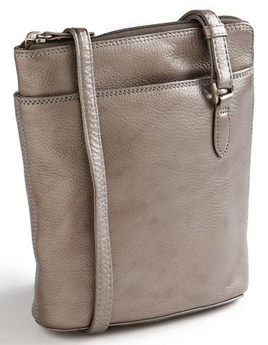 Derek Alexander Central Park Handbag-SILVER-One Size