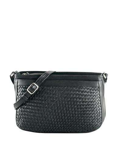 Derek Alexander Central Park Handbag-BLACK-One Size