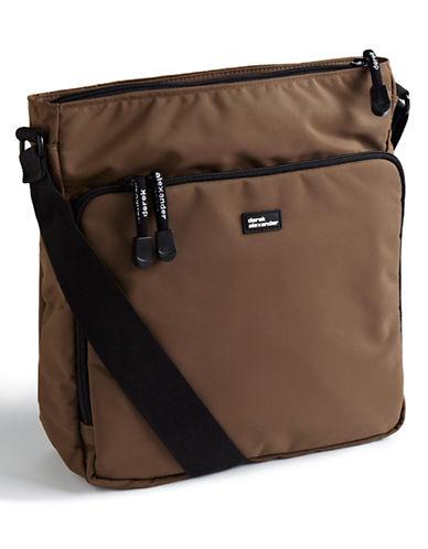 Derek Alexander Nylon Crossbody Bag-BEIGE-One Size