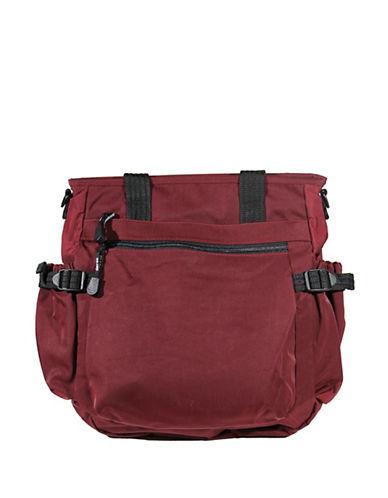 Derek Alexander Lifestyles Nylon Handbag-BURGUNDY-One Size