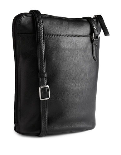 Derek Alexander Two Sided Slim Bag-BLACK-One Size