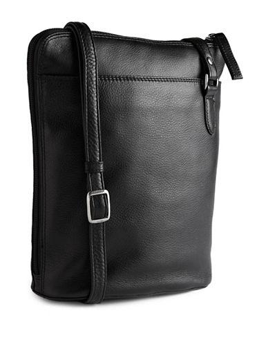 Derek Alexander Two Sided Slim Bag-BLACK-One Size