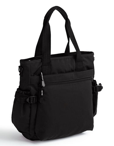 Derek Alexander Lifestyles Nylon Handbag-BLACK-One Size