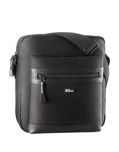 Derek Alexander Top Zip Shoulder Bag-BLACK-One Size