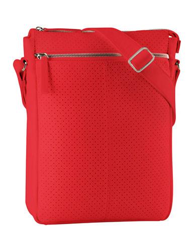 Derek Alexander North South Top Zip-RED-One Size