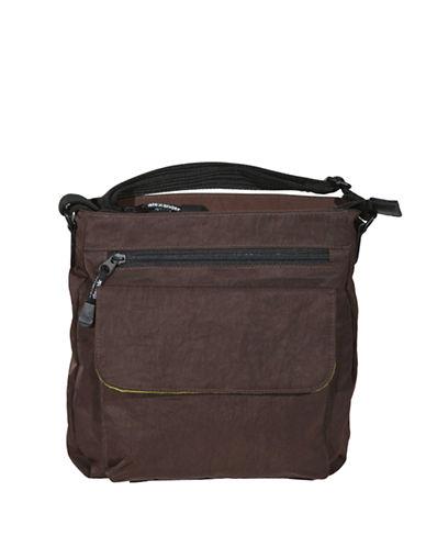 Derek Alexander Top Zip Unisex Bag-BROWN-One Size