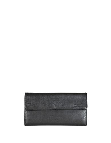 Derek Alexander Large Credit Card Wallet-BLACK-One Size
