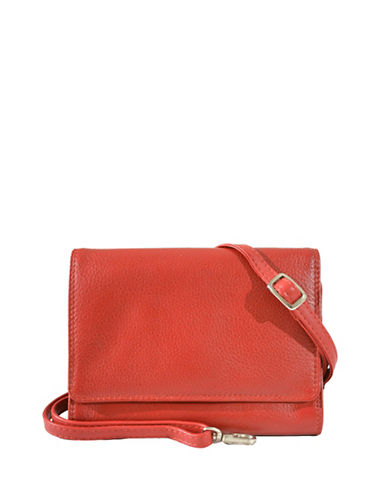 Derek Alexander Small Organizer Bag and Wallet-RED-One Size