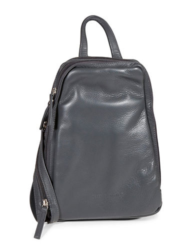 Derek Alexander Central Park Backpack-GREY-One Size