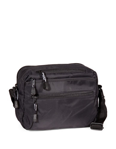 Derek Alexander Zip Cross Shoulder Camera Bag-BLACK-One Size