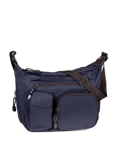 Derek Alexander Top Zip Hobo Bag-BLUE-One Size