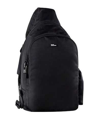 Derek Alexander Sling Backpack-BLACK-One Size