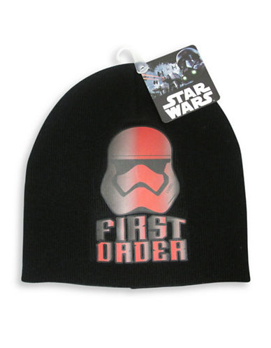 Star Wars Boys Star Wars Tuque-BLACK-One Size