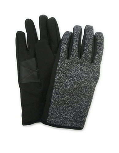 1670 Sure Grip Soft Shell Gloves-GREY-One Size