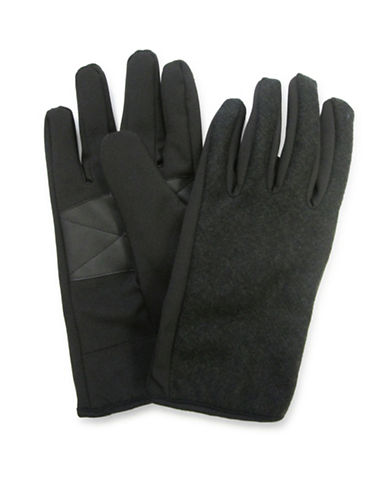 1670 Sure Grip Soft Shell Gloves-BLACK-One Size