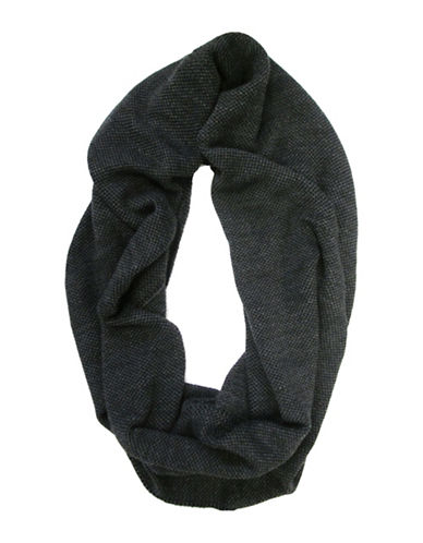 1670 Knit Infinity Scarf-GREY-One Size