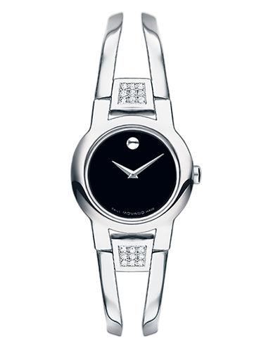 Movado Amorosa Watch-SILVER-One Size
