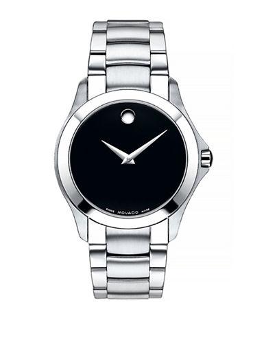 Movado Masino Stainless Steel Analog Watch-BLACK-One Size