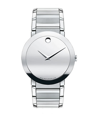 Movado Sapphire Watch-SILVER-One Size