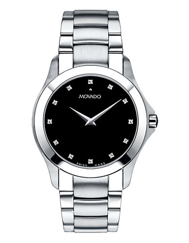 Movado Masino Watch-SILVER-One Size