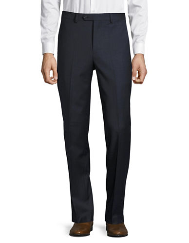 Chaps Performance Series Slim-Fit Suit Pants-BLUE-34X32