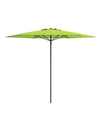 Corliving 7.5-Feet Deluxe Beach Umbrella-GREEN-One Size