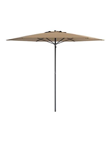 Corliving 7.5-Feet Deluxe Beach Umbrella-BROWN-One Size
