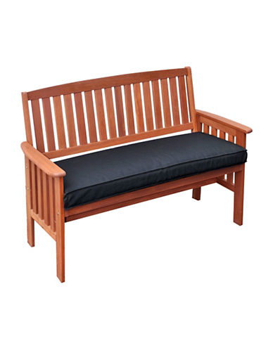 Corliving Miramar Outdoor Bench-BROWN-One Size