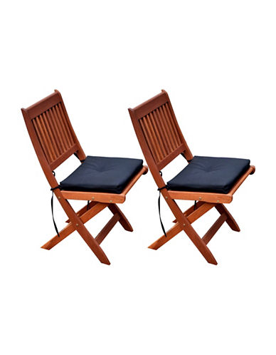 Corliving Miramar Outdoor Patio Folding Chair Set