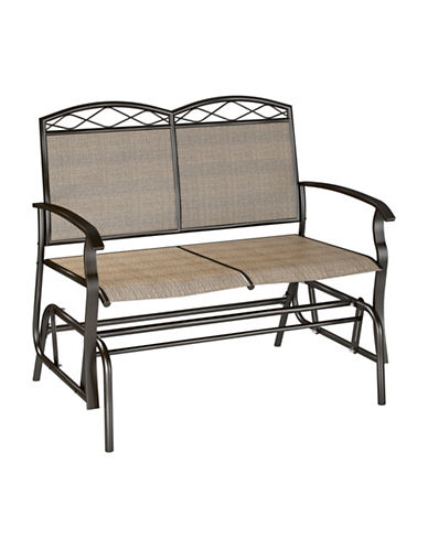 Corliving Patio Double Glider-BEIGE-One Size