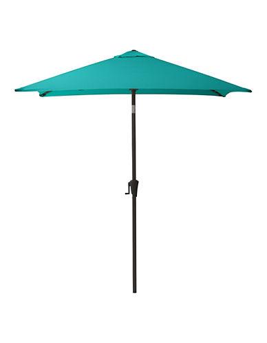 Corliving Square Patio Umbrella-BLUE-One Size