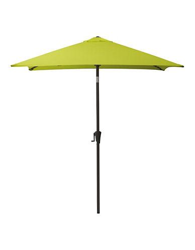 Corliving Square Patio Umbrella-GREEN-One Size