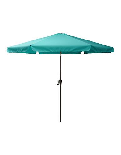 Corliving Tilting Patio Umbrella-BLUE-One Size
