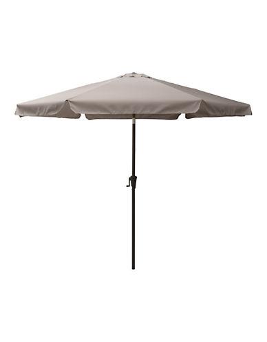 Corliving Tilting Patio Umbrella-GREY-One Size