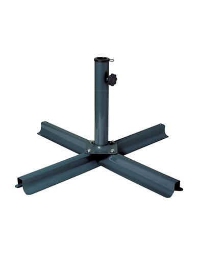 Corliving Patio Umbrella Stand-BLACK-One Size