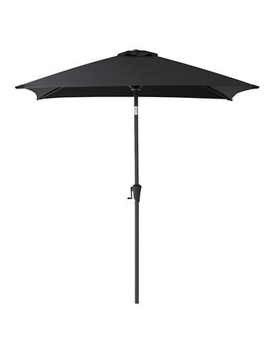 Corliving Square Patio Umbrella-BLACK-One Size