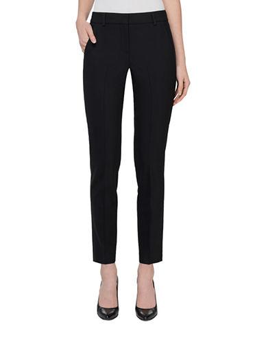 Judith & Charles Liam B Wool Pants-BLACK-0