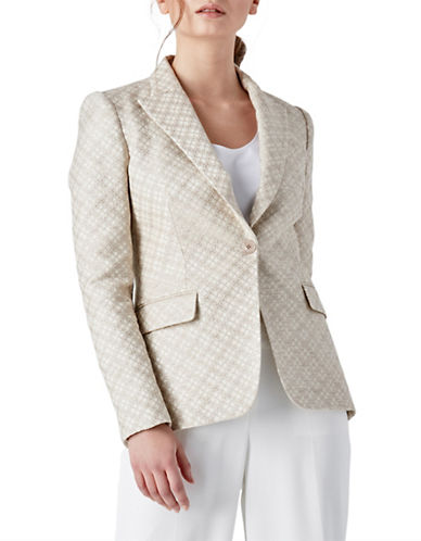 Judith & Charles Olsberg Single-Breasted Jacket-BEIGE-0