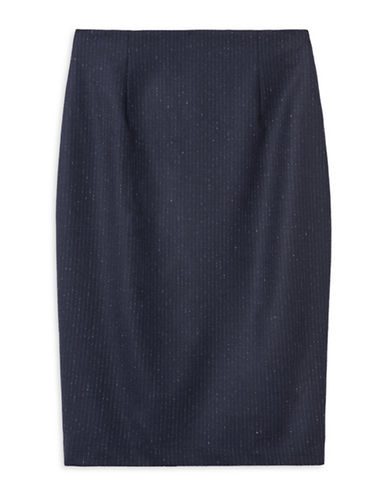 Judith & Charles Sunset Pencil Skirt-BLUE-12