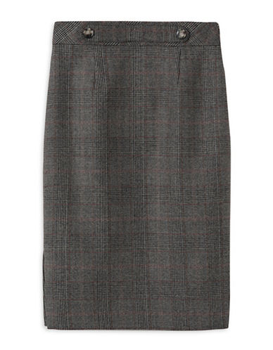Judith & Charles Kate Skirt-BROWN-0