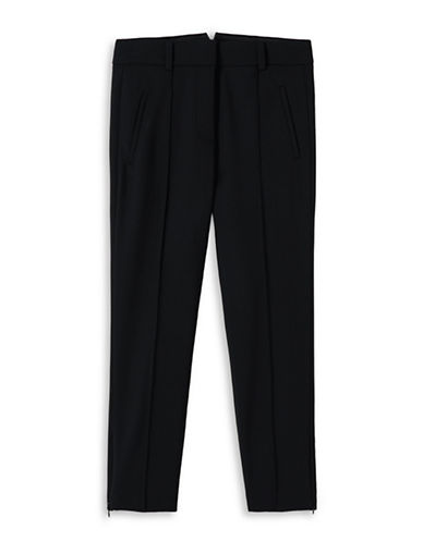 Judith & Charles Cecil Skinny Trousers-BLACK-10