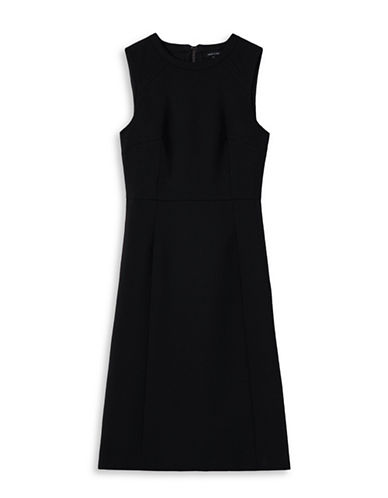 Judith & Charles Angelica Sheath Dress-BLACK-6