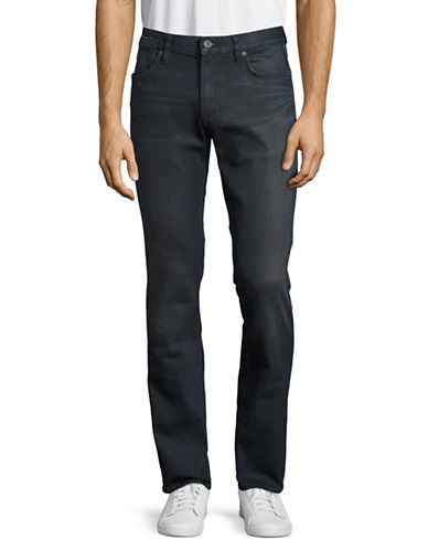 John Varvatos Star U.S.A. Bowery Fit V-Stitch Pocket Jeans-BLUE-36