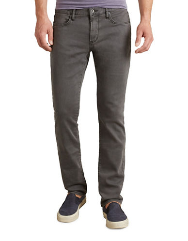 John Varvatos Star U.S.A. Bowery Knit Jeans-GREY-33