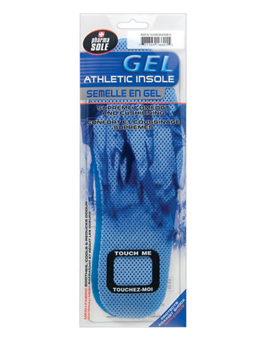 Moneysworth And Best Gel Athletic Insole-ASSORTED-One Size